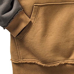 Kangaroo pocket with Legendary® accents