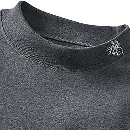 Durable ribbed collar