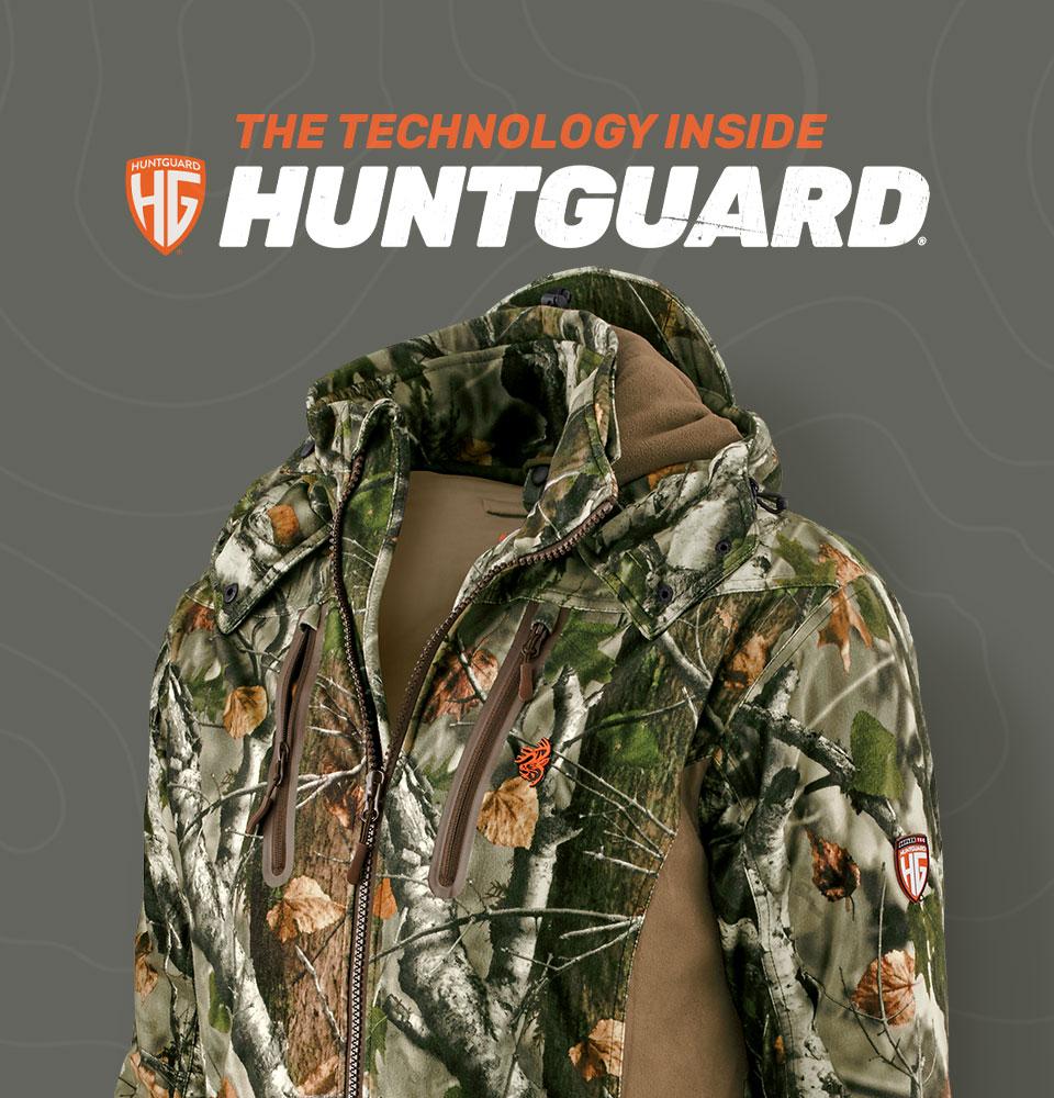 HuntGuard Big Game Camo Hunting Jacket