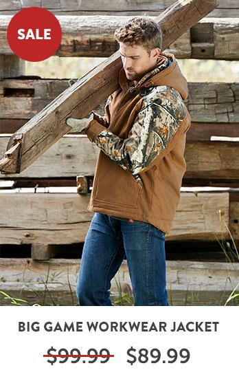 Big Game Canvas Cross Trail Workwear Jacket