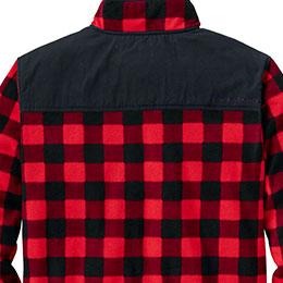Back yoke overlay with Legendary® branding