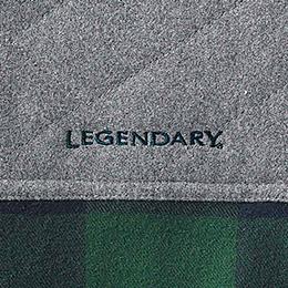 Embroidered Legendary® logo