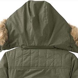 Removable zip-off hood