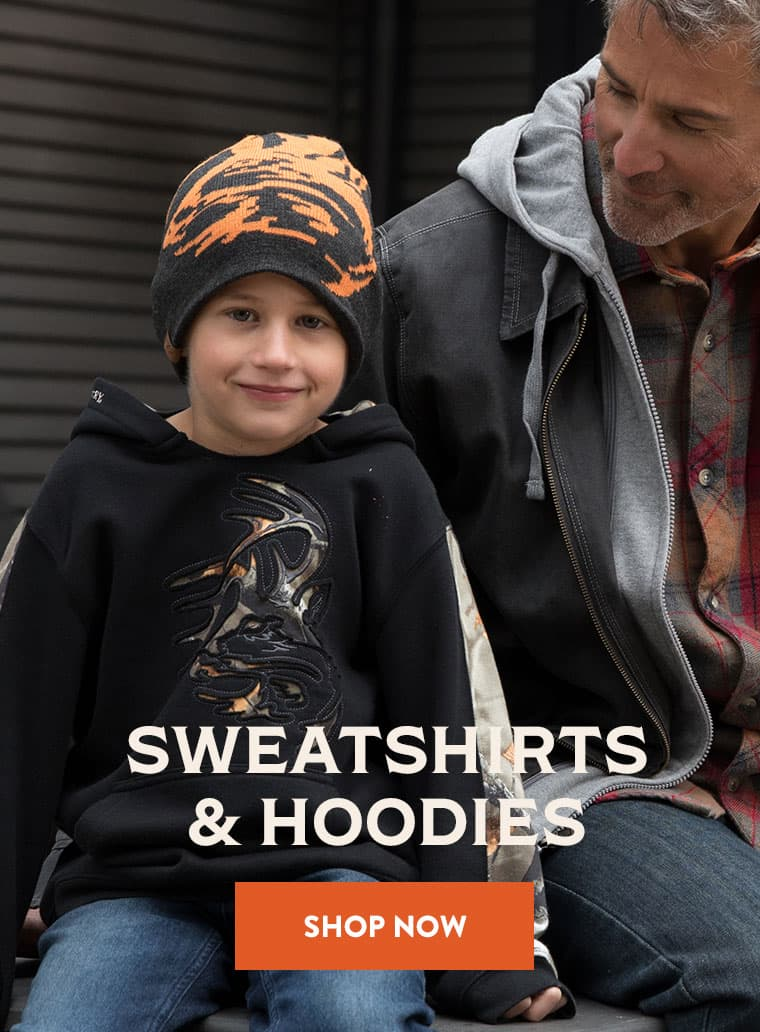 Camo Outfitter Hoodies