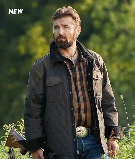 Tough As Buck Quilted Field Jacket