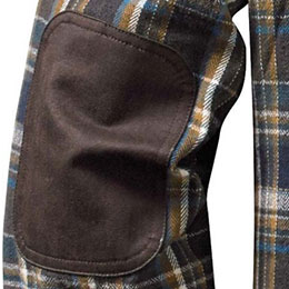 Reinforced elbow patches
