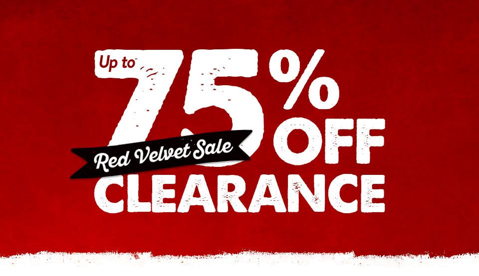 Red Velvet Sale