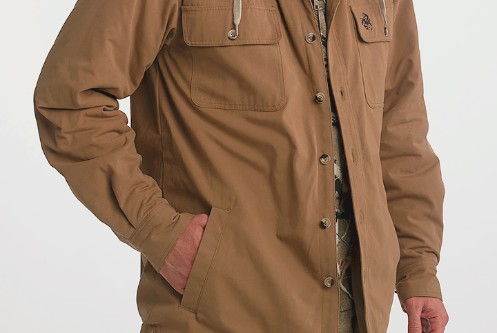 Quilted, satin-lined insulated sleeves