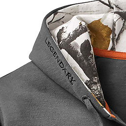 Legendary® branded hood
