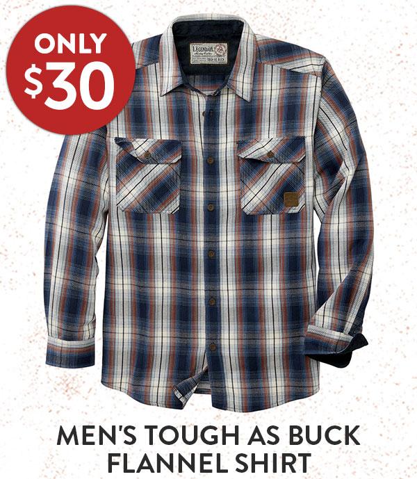 Men's Tough as Buck Flannel Shirt