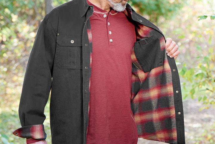 Journeyman Shirt Jacket Legendary Whitetails