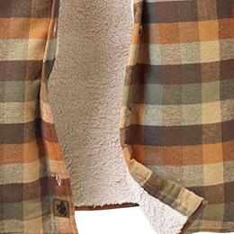Soft, poly fleece lining