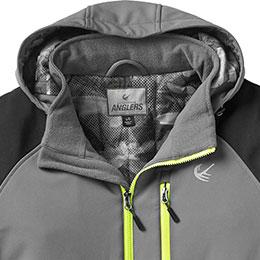 Three-piece adjustable hood