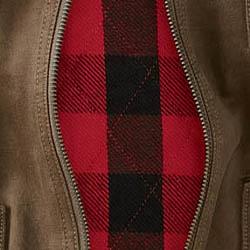 Buffalo check flannel lining