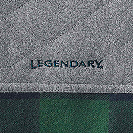 Embroidered Legendary® logo