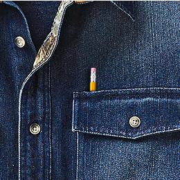 Easy Access Pencil Slot