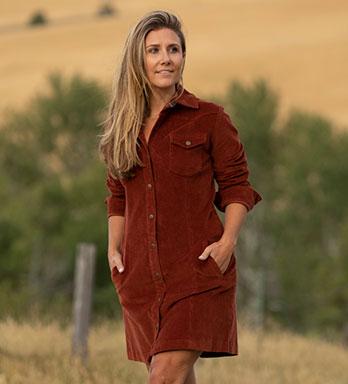 Women's Roadhouse Corduroy Dress