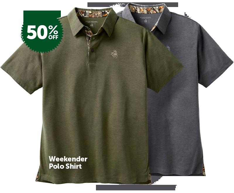 Men's Weekender Polo