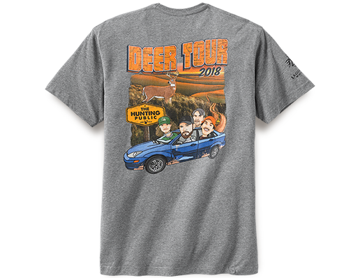 THP 2018 Deer Tour T-shirt