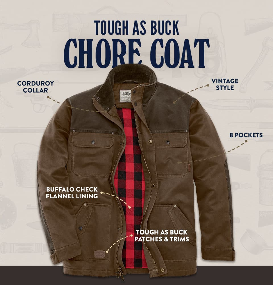 Tough As Buck Chore Coat