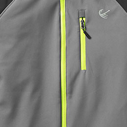 Stay dry water-resistant zippers