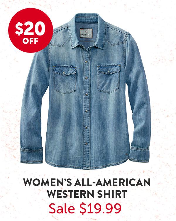 Women's All American Western Shirt