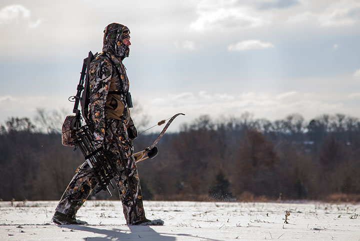 HuntGuard® integrated padding designed for hunters