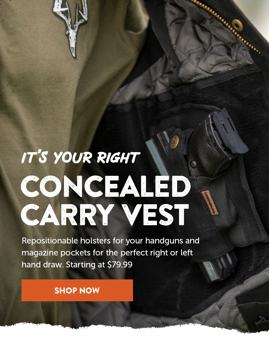 Men's Concealed Carry Vest
