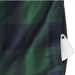 Easy access hand warming pockets