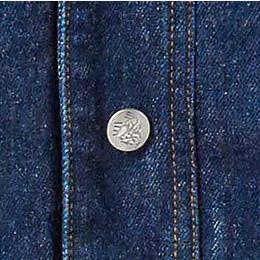 Legendary® branded metal shank buttons