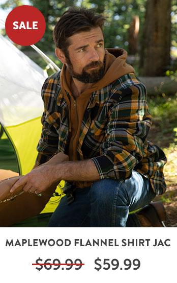 Maplewood Flannel Shirt Jacket
