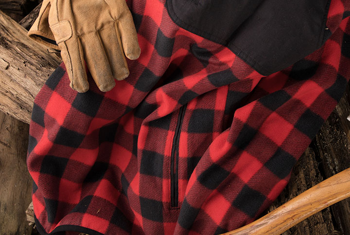 Soft, warm fleece construction