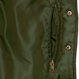 Interior Zippered Security Pocket