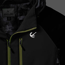 Reflective chest and back yoke Legendary® logos