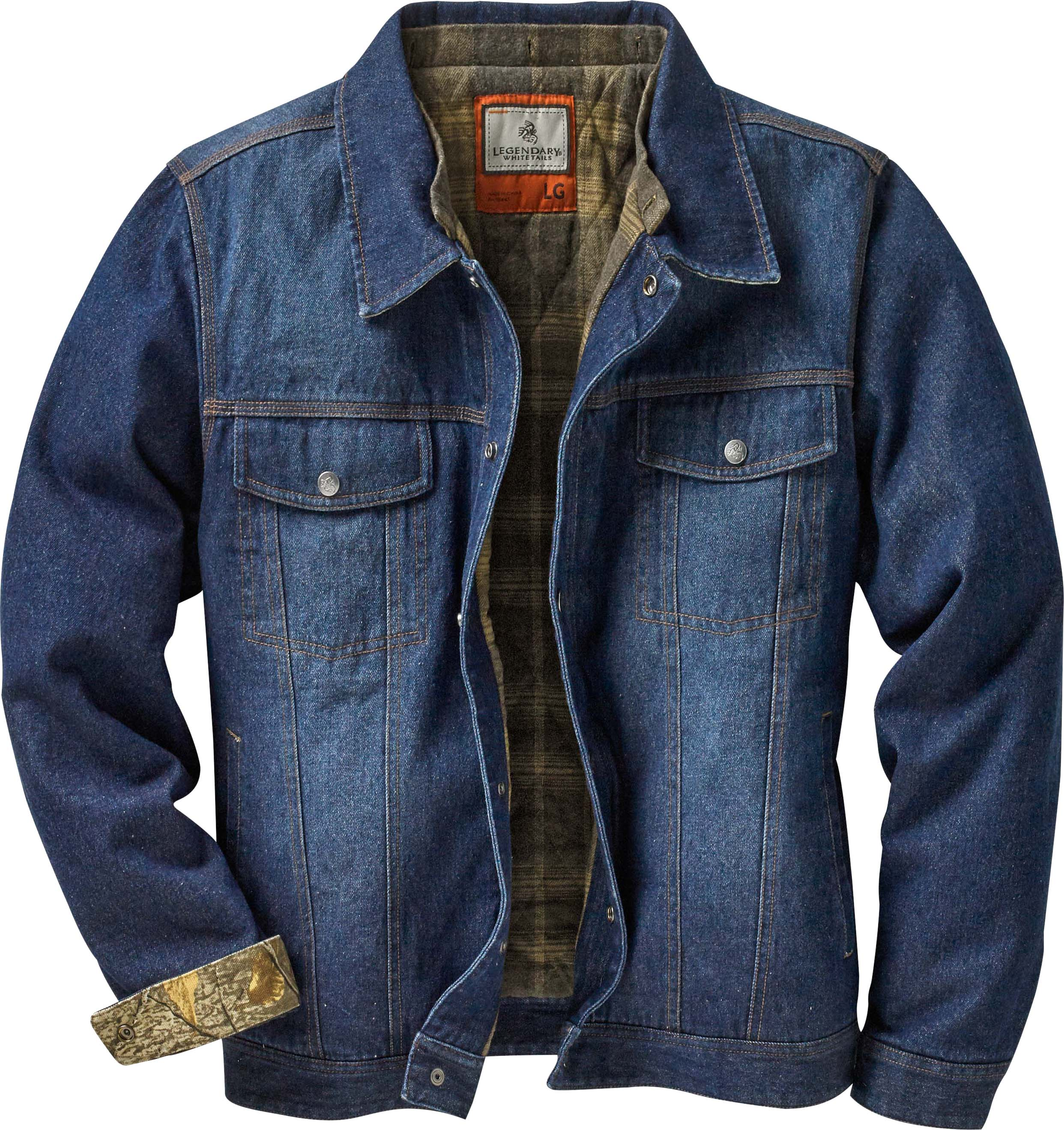 Hideout Conceal And Carry Denim Jacket Legendary Whitetails