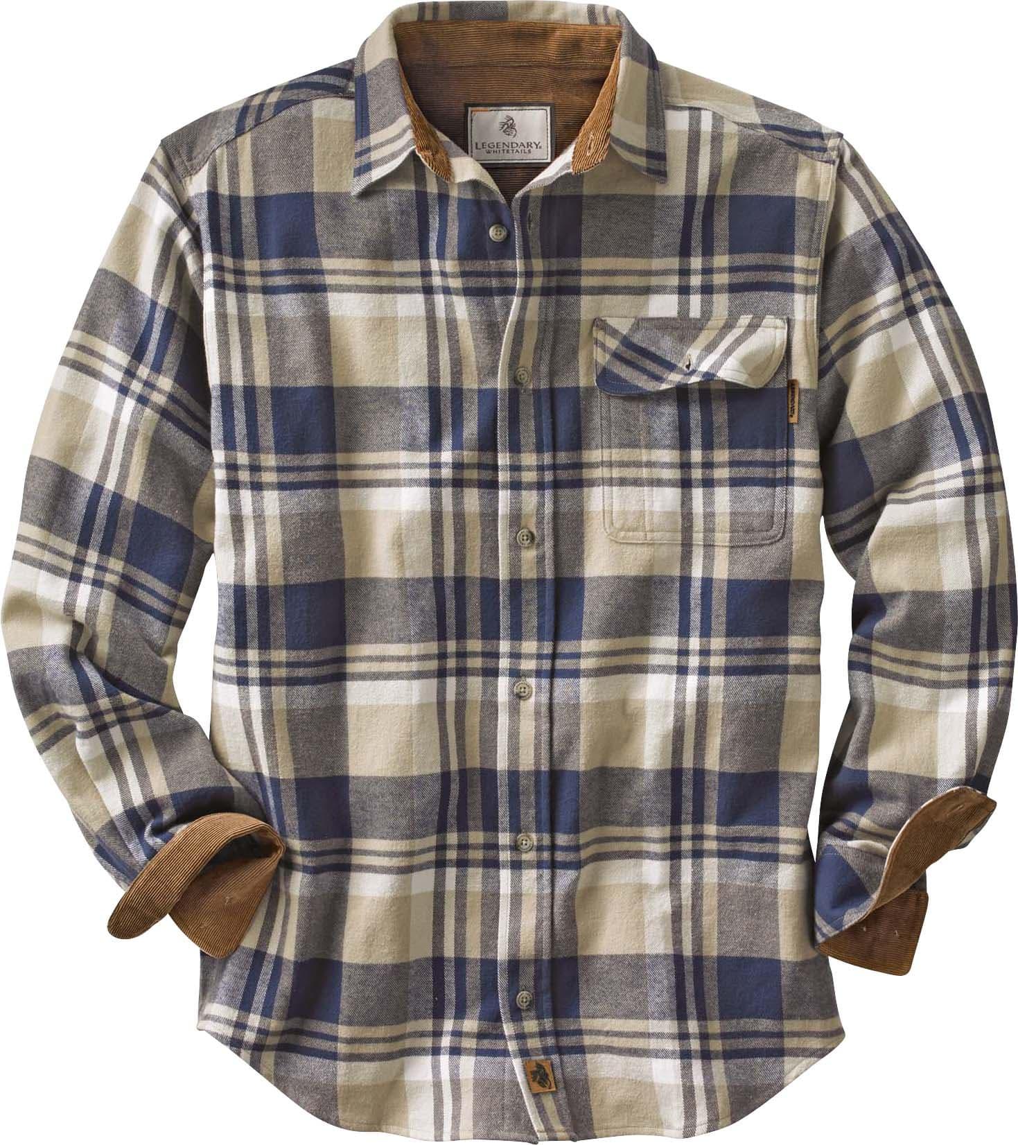 677bbe9e3b Buck Camp Flannels | Legendary Whitetails