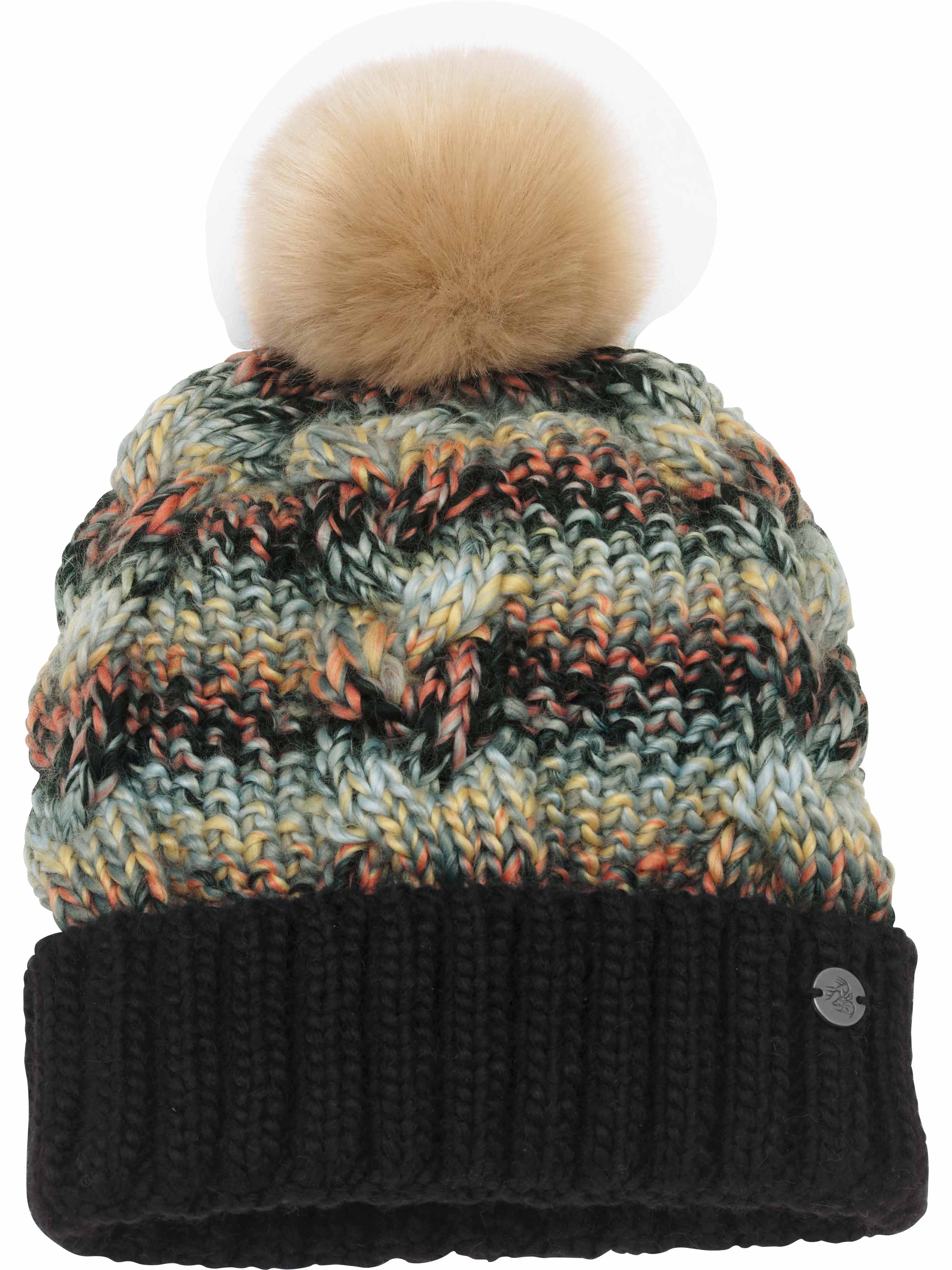 b941694ddb9 Legendary Whitetails Women s Northern Lights Beanie Black ...