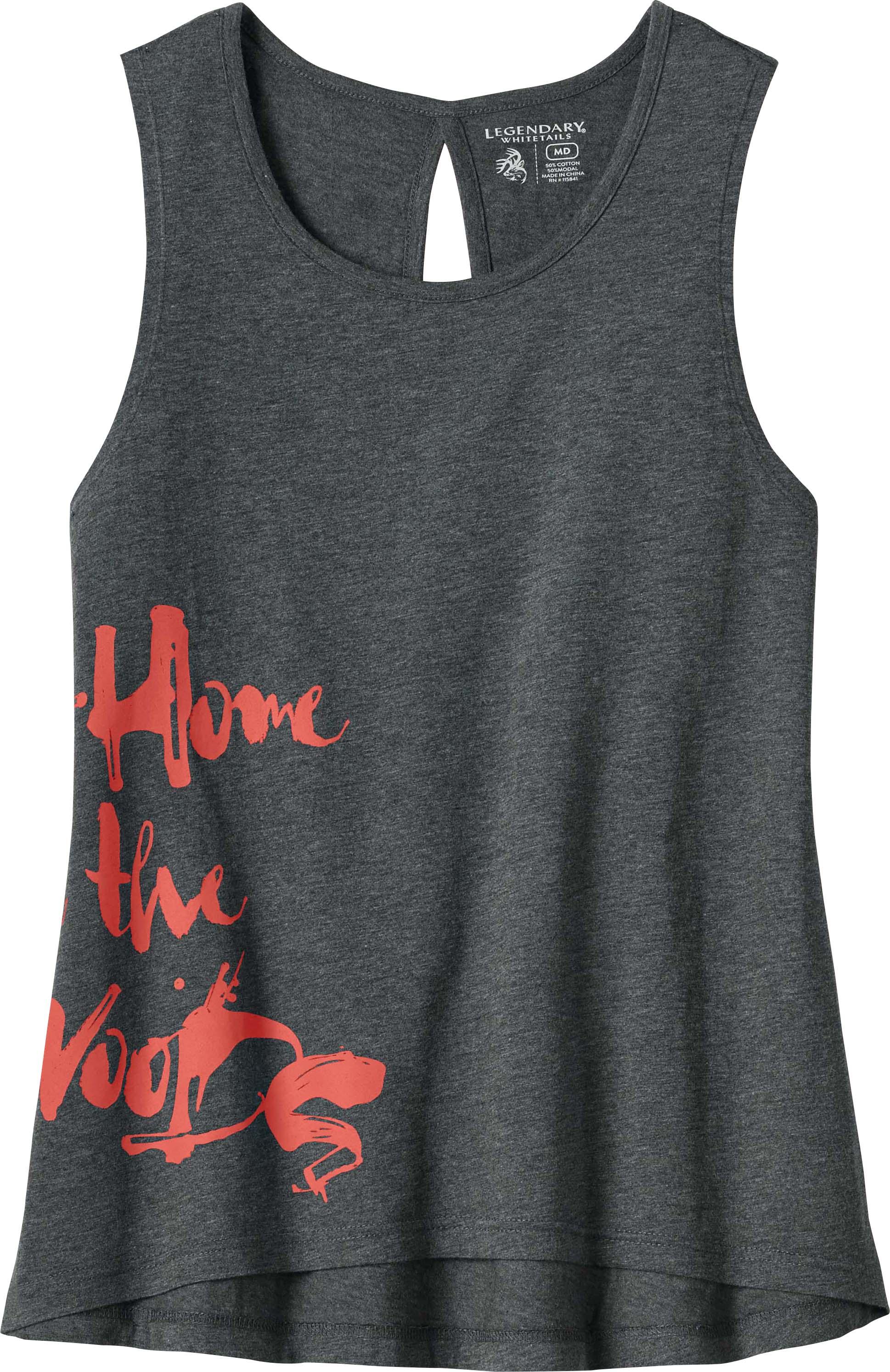 56c68ee23b00d Women s In The Woods Sleeveless T-shirt ...